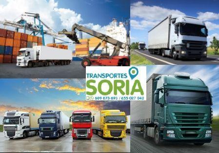 Alquiler de camiones en Vinuesa Soria