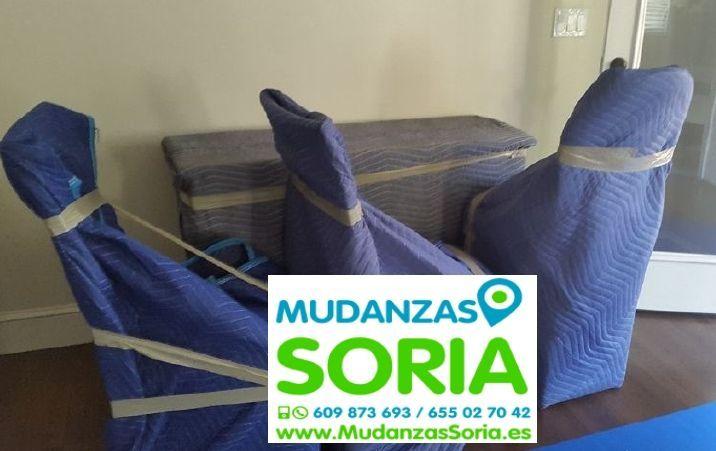 Empresas transportes Santa María de las Hoyas