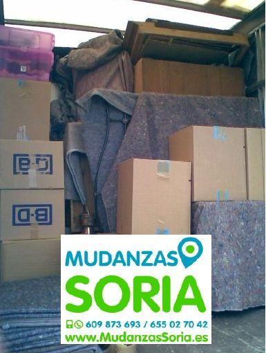 Mudanzas Almaluez Soria