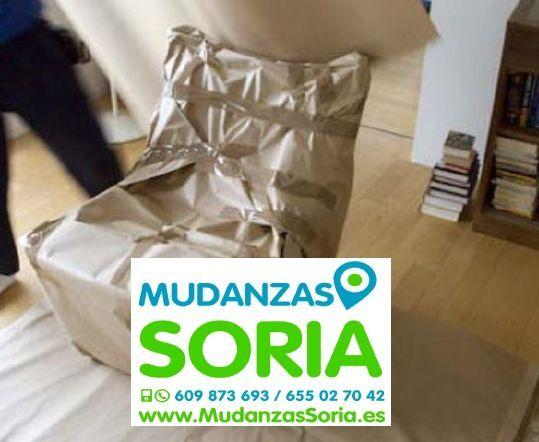 Mudanzas Arévalo de la Sierra Soria