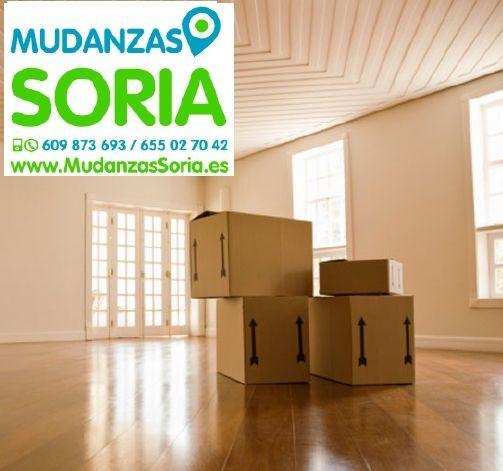 Mudanzas Cubo de la Solana Soria