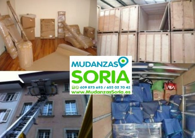 Mudanzas Duruelo de la Sierra Soria