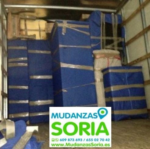 Mudanzas Escobosa de Almazán Soria