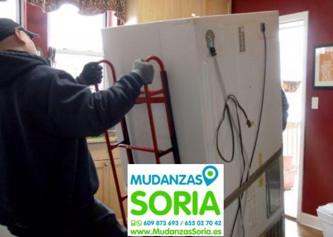 Mudanzas Nafría de Ucero Soria