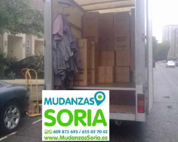 Mudanzas Portillo de Soria