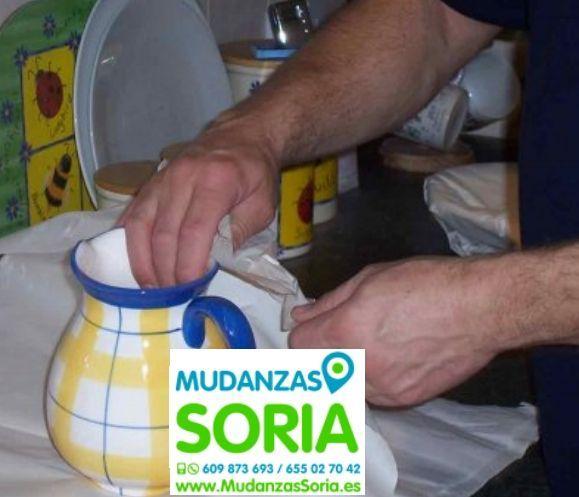 Mudanzas Santa Cruz de Yanguas Soria