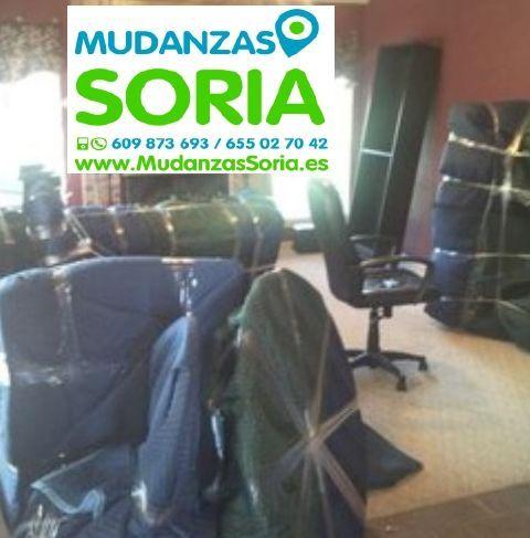 Mudanzas Santa María de las Hoyas Soria