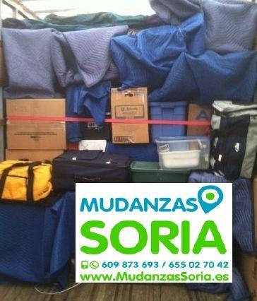 Mudanzas Sotillo del Rincón Soria