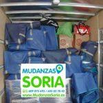 Mudanzas compartidas en Soria