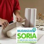 Mudanzas de Materiales Frágiles en Soria
