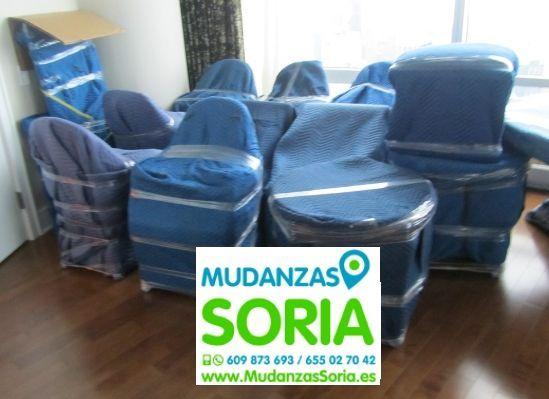 Mudanzas para Empresas en Soria