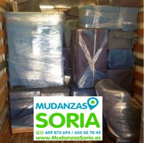Presupuesto Mudanzas Cabrejas del Pinar Soria