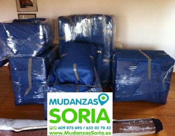 Presupuesto mudanzas Castilfrío de la Sierra Soria