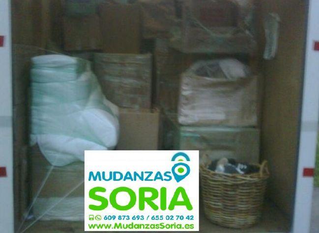 Presupuesto mudanzas Frechilla de Almazán Soria