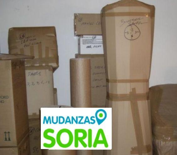 Presupuesto mudanzas Fuentelmonge Soria