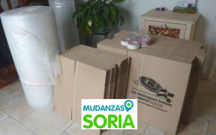 Presupuestos mudanzas Aldehuela de Periáñez Soria