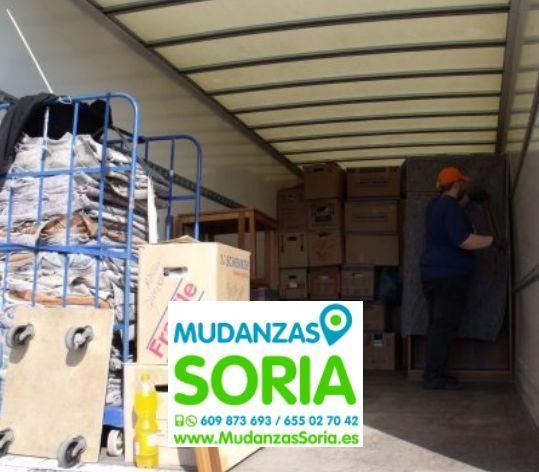 Presupuestos mudanzas Arévalo de la Sierra Soria