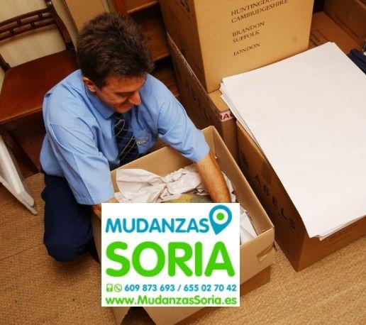 Presupuestos mudanzas Arenillas Soria