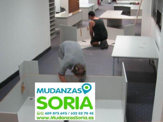 Presupuestos mudanzas Escobosa de Almazán Soria