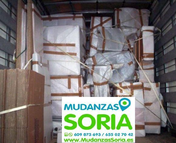 Presupuestos mudanzas Estepa de San Juan Soria