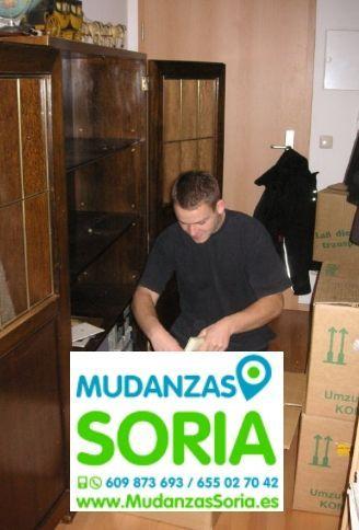 Presupuestos mudanzas Las Aldehuelas Soria