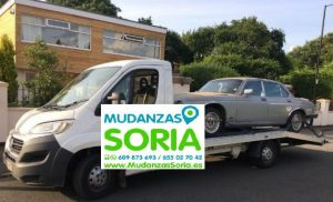 Transporte coches Soria