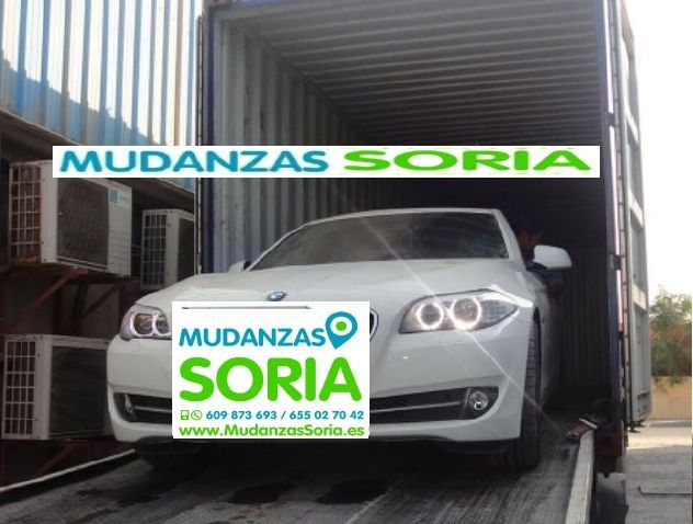Transporte coches motos Soria