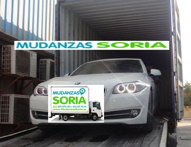 Transporte de automóviles en Soria