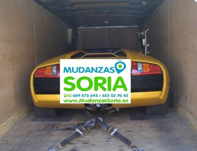 Transporte de coches en Soria