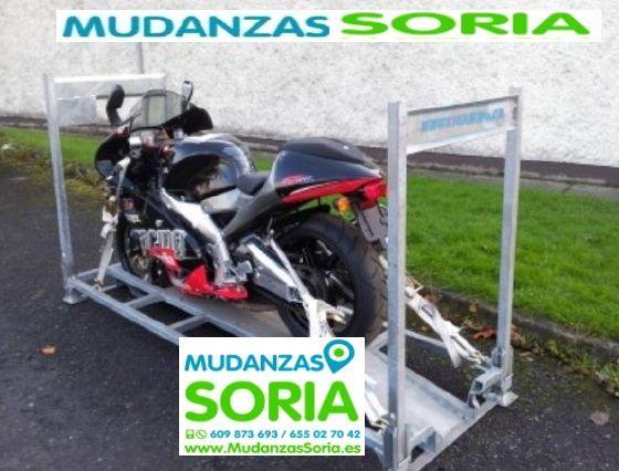 Transporte de moto en Soria