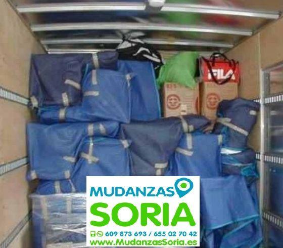 Transportes Mudanzas Ausejo de la Sierra Soria