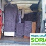 Transportes Mudanzas Cabrejas del Pinar Soria