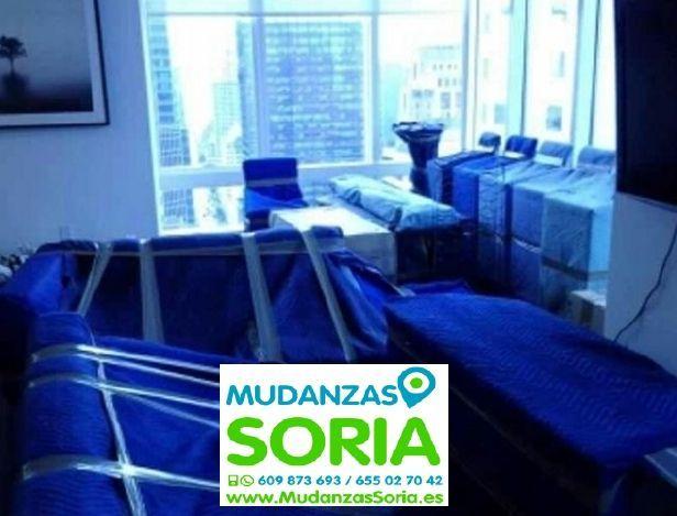 Transportes Mudanzas Centenera de Andaluz Soria