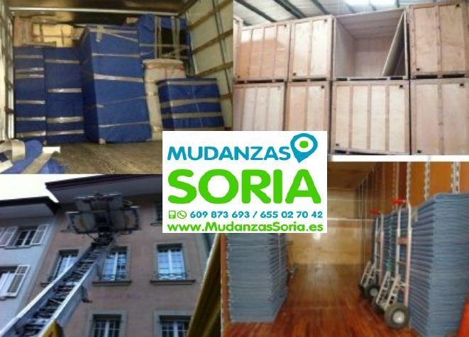 Transportes Mudanzas Medinaceli Soria