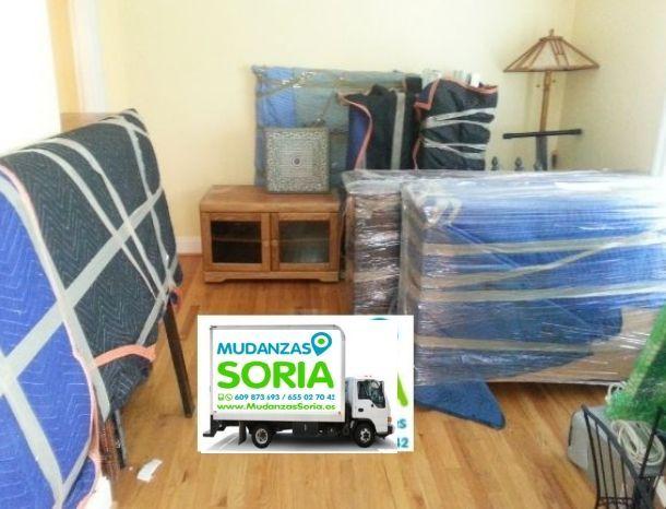 Transportes Mudanzas Molinos de Duero Soria