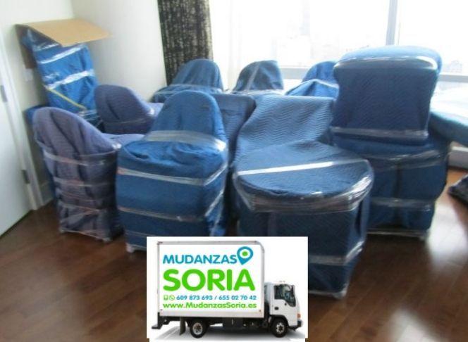 Transportes Mudanzas Montejo de Tiermes Soria