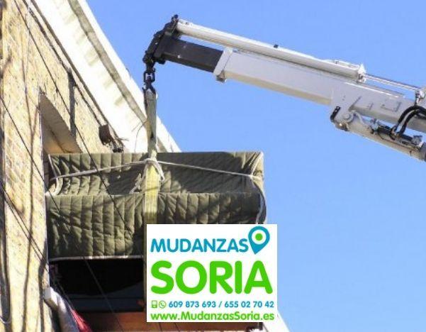 Transportes Mudanzas Muriel de la Fuente Soria
