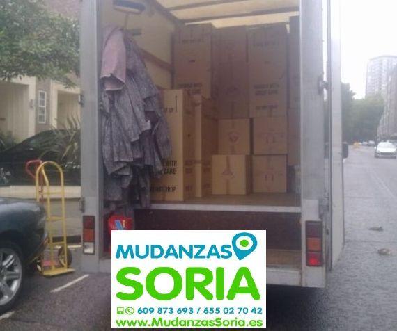Transportes Mudanzas Nafría de Ucero Soria