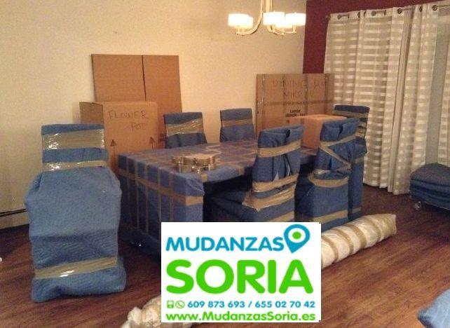 Transportes Mudanzas Quintanas de Gormaz Soria