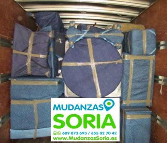 Transportes Mudanzas San Esteban de Gormaz Soria