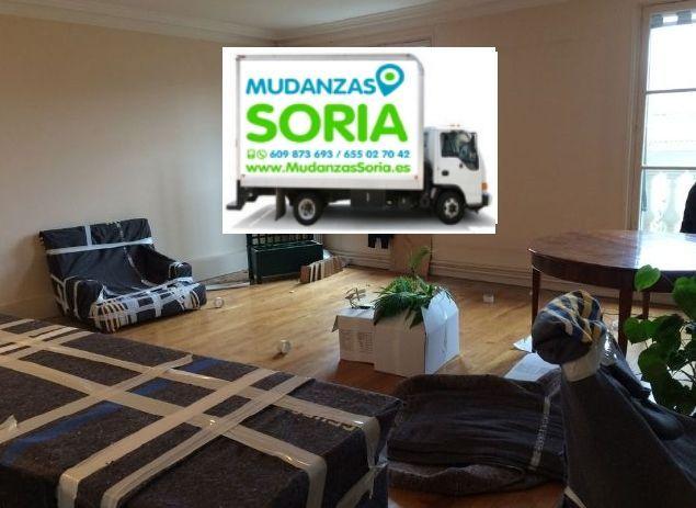Transportes Mudanzas Viana de Duero Soria