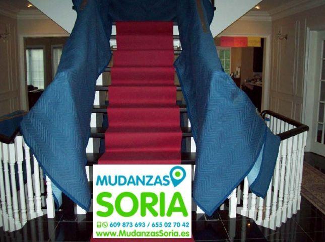 Transportes guardamuebles Mudanzas Buberos Soria