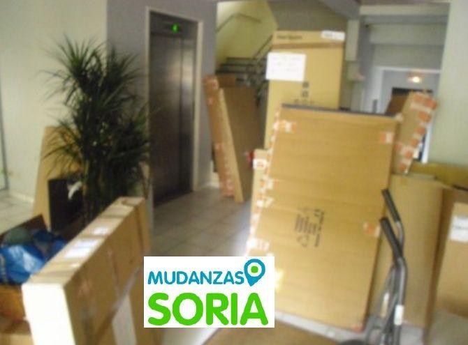 Transportes guardamuebles Mudanzas Vadillo Soria