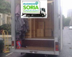 camiones mudanzas soria